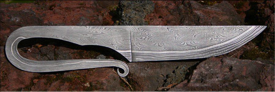Wikingermesser aus Schmiedekurs