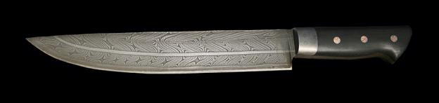 Schmiedekurs Damastmesser/ Küchenmesser aus Torsions- und Lagendamastbahnen