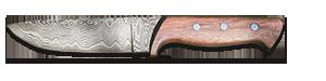 Jagdmesser aus Damast-Schmiedekurs